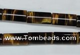CTE165 15.5 inches 6*12mm column yellow tiger eye gemstone beads