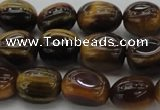 CTE1708 15.5 inches 10*14mm nuggets yellow tiger eye beads