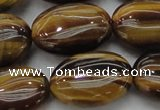 CTE1718 15.5 inches 18*25mm oval yellow tiger eye beads wholesale