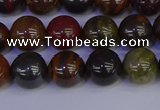 CTE1792 15.5 inches 8mm round red iron tiger beads wholesale