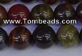 CTE1794 15.5 inches 12mm round red iron tiger beads wholesale