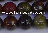 CTE1795 15.5 inches 14mm round red iron tiger beads wholesale