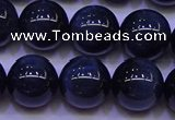 CTE1854 15.5 inches 12mm round blue tiger eye beads wholesale