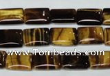 CTE190 15.5 inches 15*20mm rectangle yellow tiger eye gemstone beads
