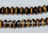 CTE194 15.5 inches 5*8mm rondelle yellow tiger eye gemstone beads