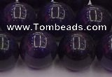 CTE1956 15.5 inches 16mm round purple tiger eye beads wholesale