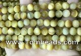 CTE2009 15.5 inches 8mm round golden tiger eye beads wholesale