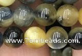 CTE2016 15.5 inches 8mm round golden & blue tiger eye beads wholesale