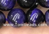 CTE2026 15.5 inches 14mm round purple tiger eye beads wholesale
