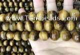 CTE2152 15.5 inches 16mm round yellow tiger eye beads wholesale