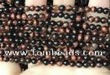 CTE2180 15.5 inches 4mm round yellow tiger eye gemstone beads