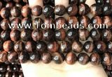 CTE2184 15.5 inches 12mm round yellow tiger eye gemstone beads
