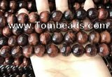 CTE2185 15.5 inches 14mm round red tiger eye gemstone beads