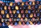 CTE2213 15.5 inches 12mm round colorful tiger eye beads wholesale