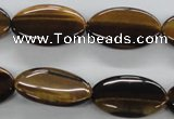 CTE302 15.5 inches 15*25mm oval yellow tiger eye gemstone beads