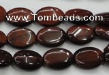 CTE58 15.5 inches 12*16mm oval red tiger eye gemstone beads