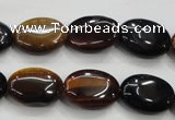 CTE61 15.5 inches 13*18mm oval mixed tiger eye gemstone beads