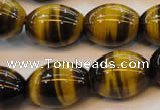 CTE616 15.5 inches 15*20mm rice yellow tiger eye beads wholesale