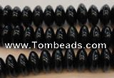 CTE645 15.5 inches 6*12mm rondelle blue tiger eye beads wholesale