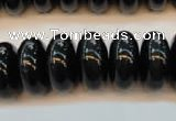 CTE647 15.5 inches 10*18mm rondelle blue tiger eye beads wholesale