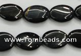 CTE75 15.5 inches 13*18mm oval blue tiger eye gemstone beads