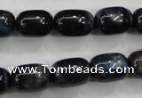 CTE79 15.5 inches 11*15mm drum blue tiger eye gemstone beads