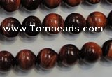 CTE85 15.5 inches 10mm round red tiger eye gemstone beads