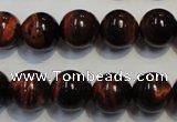 CTE86 15.5 inches 12mm round red tiger eye gemstone beads