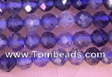 CTG1330 15.5 inches 3mm faceted round iolite beads wholesale