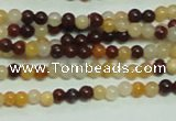 CTG138 15.5 inches 3mm round tiny mookaite gemstone beads wholesale