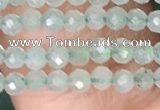 CTG1410 15.5 inches 2mm faceted round prehnite beads wholesale