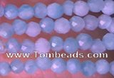 CTG1422 15.5 inches 2mm faceted round amazonite beads wholesale