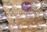 CTG1587 15.5 inches 4mm round ametrine gemstone beads wholesale