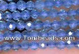 CTG1661 15.5 inches 2mm faceted round tiny apatite beads