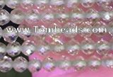 CTG1670 15.5 inches 2mm faceted round tiny peridot beads