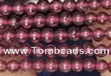 CTG2071 15 inches 2mm,3mm red garnet gemstone beads
