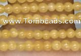 CTG2074 15 inches 2mm,3mm yellow jade gemstone beads