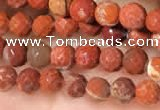 CTG2215 15 inches 2mm,3mm faceted round red jasper beads