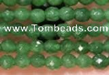 CTG2230 15 inches 2mm,3mm faceted round candy jade beads