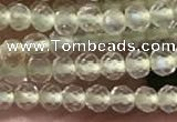 CTG2251 15 inches 2mm faceted round natural lemon quartz beads