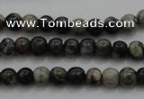 CTG264 15.5 inches 3mm round tiny grey opal gemstone beads