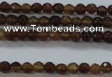 CTG425 15.5 inches 2mm faceted round tiny agate gemstone beads
