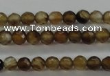 CTG427 15.5 inches 3mm faceted round tiny agate gemstone beads