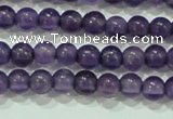 CTG73 15.5 inches 3mm round grade A tiny amethyst beads wholesale