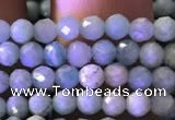 CTG775 15.5 inches 3mm faceted round tiny amazonite beads wholesale