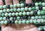 CTJ752 15.5 inches 8mm round transvaal jade beads wholesale