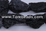 CTK10 15.5 inches 12*16mm - 18*25mm nuggets tektite gemstone beads