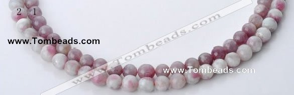 CTO15 15 inches 8.5mm round natural tourmaline beads wholesale