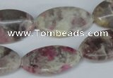 CTO213 15.5 inches 16*28mm marquise pink tourmaline gemstone beads