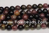 CTO356 15.5 inches 6mm round natural tourmaline gemstone beads